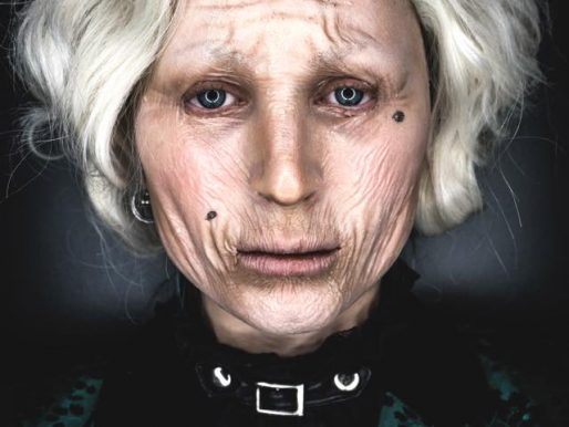Old Lady-Halloween Tutorial by Pandora Nox
